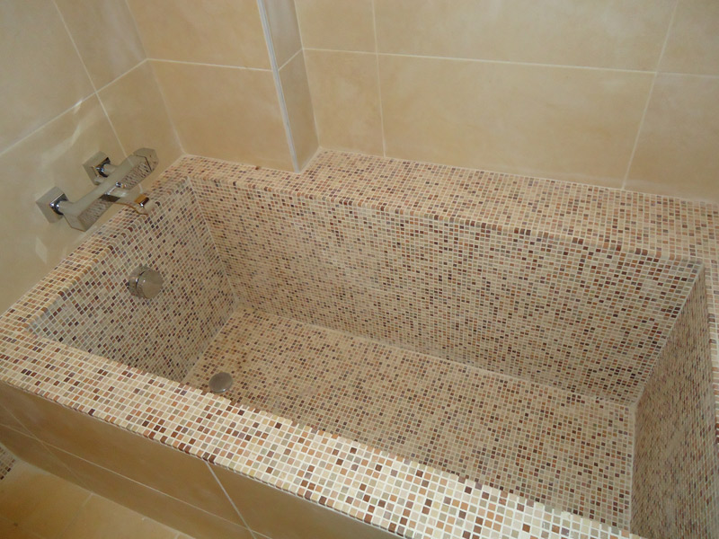 amazing per with bagni in muratura mosaico